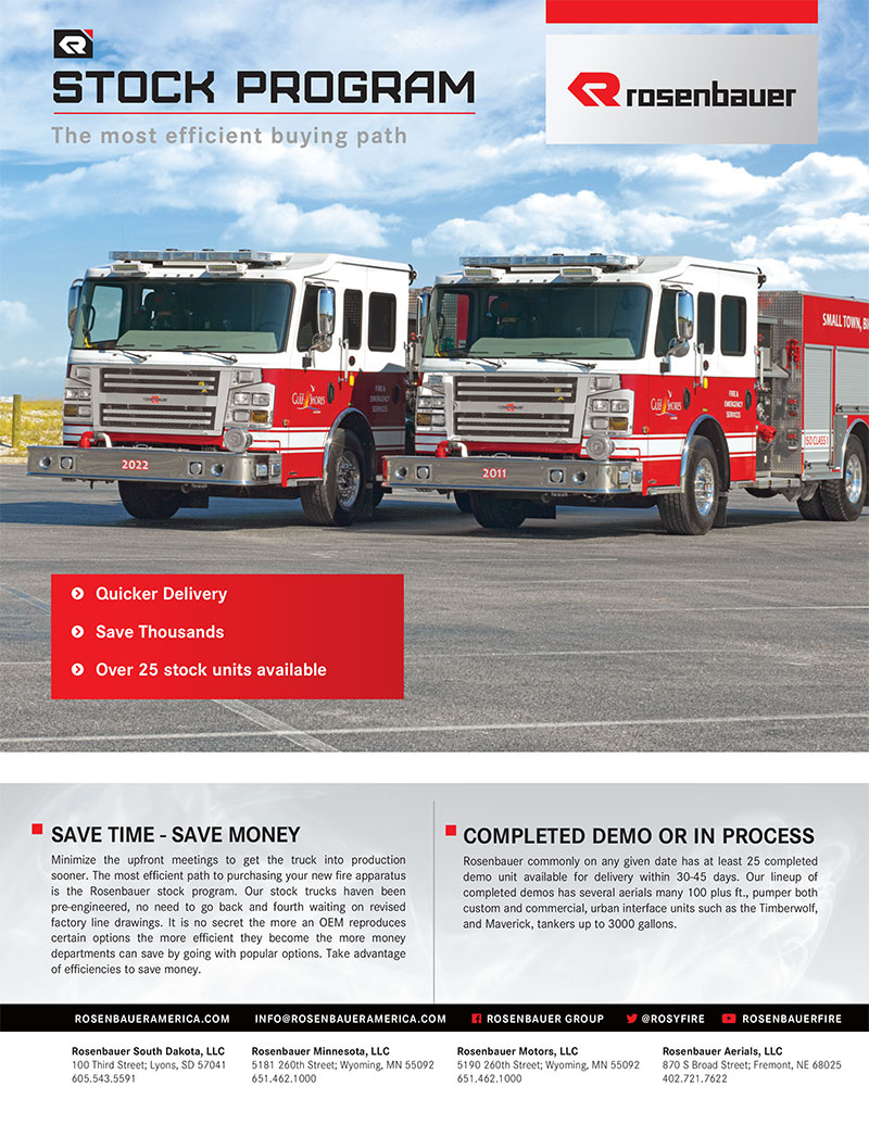 Rosenbauer's Stock Program